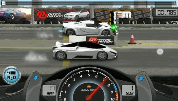 Drag Racing Gameplay