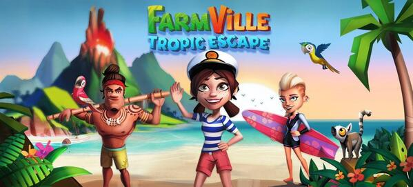 Farmville 2 Tropical Escape Logo