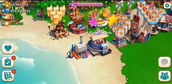 Farmville 2 Tropical Escape Mod Screen