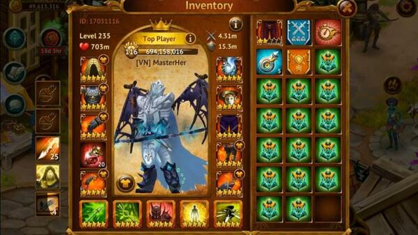 Guild of Heroes Inventory
