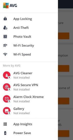 AVG AntiVirus Pro Screen 1