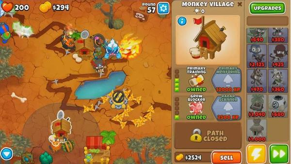 Bloons TD 6 Screen 1