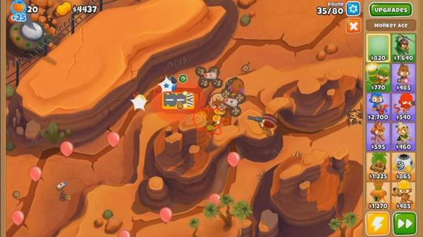 Bloons TD 6 Screen