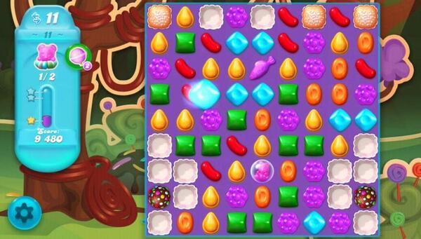 Candy Crush Soda Saga Gameplay
