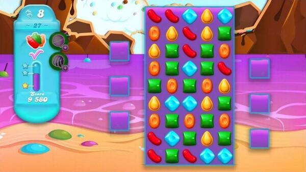 Candy Crush Soda Saga Screen