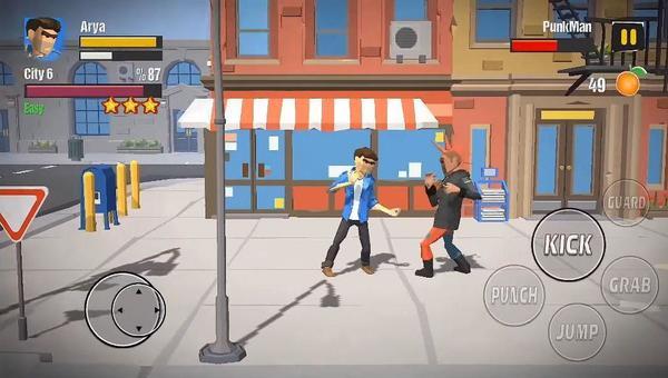 City Fighter vs Street Gang Screen