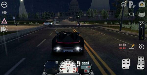 Driving School Sim at Night