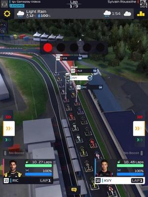 F1 Manager Screen 1