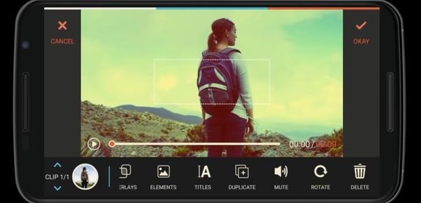 FilmoraGo Screen 1