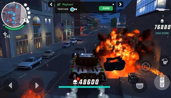 Gangstar new orleans gameplay