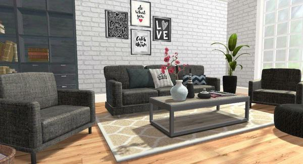 Home Desigh Makeover Living Room