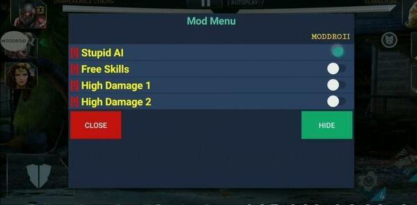 Injustice 2 Mod Screen