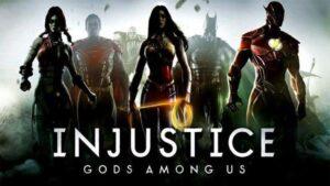 Injustice Gods Among Us Logo