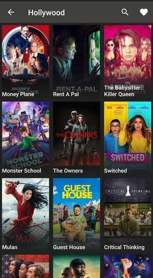 Netflix Hollywood movies