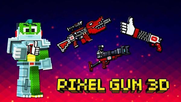 Pixel Gun 3D Logo