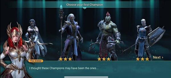 Raid Shadow Legends Heroes