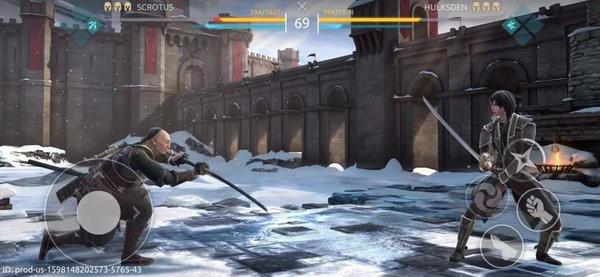Shadow Fight Arena Screen