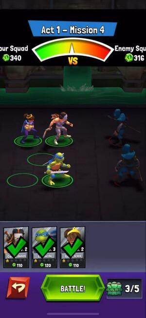 TMNT Mutant Madness Gameplay