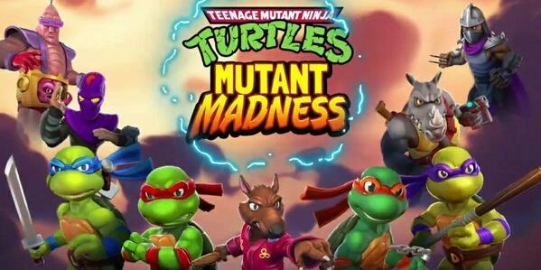 TMNT Mutant Madness Logo