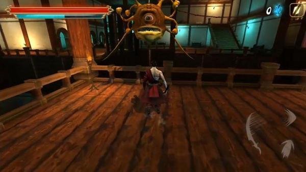 Takashi Ninja Warrior Screen