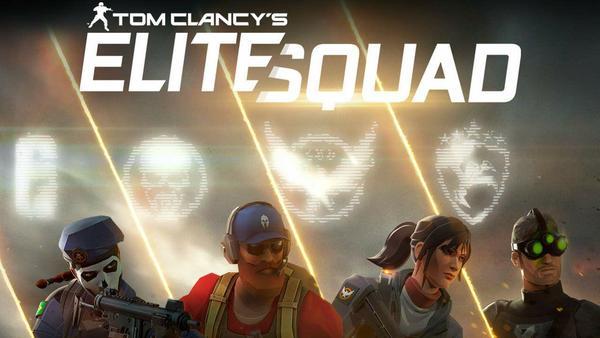 Tom Clancy's Elite Squad Logo