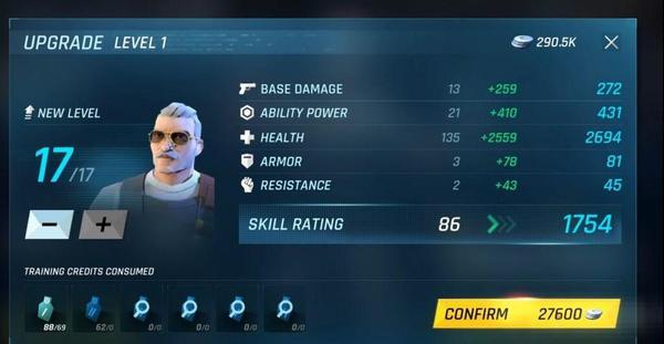 Tom Clancy's Elite Squad Upgrade