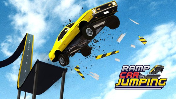 ramp car jumping logo