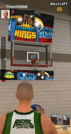 real basketball gameplay
