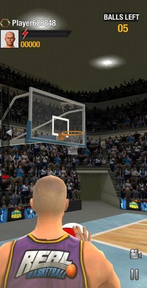 real basketball screen