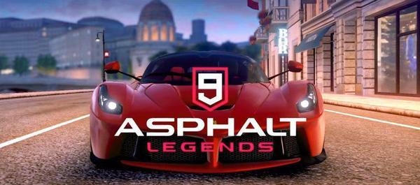Asphalt 9 Legends Logo