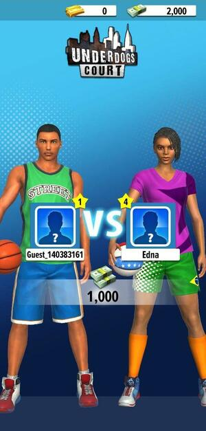 Basketball Stars Screen 2