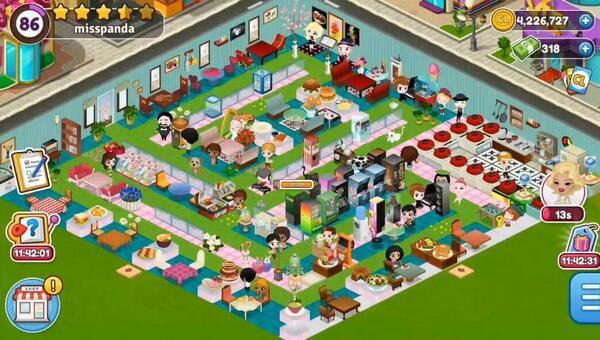 Cafeland — World Kitchen Screen 1