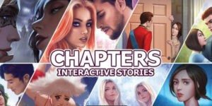 Chapters - Interactive Stories Logo