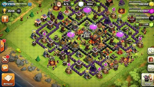 Clash of Clans Village
