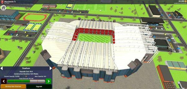 Club Soccer Director 2021 Stadium