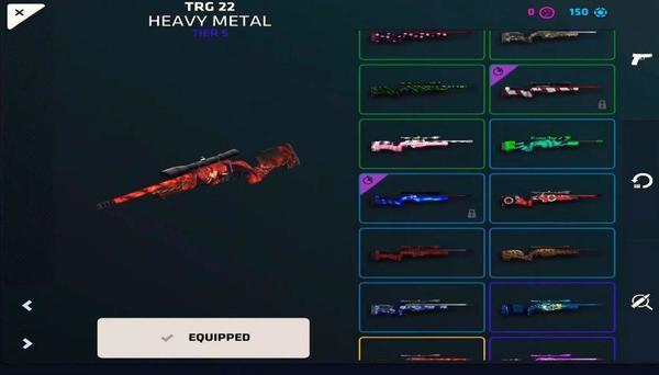 Critical Ops Rifles