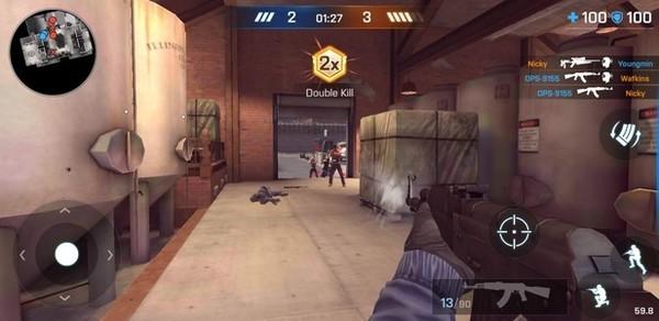Critical Ops Screen 1