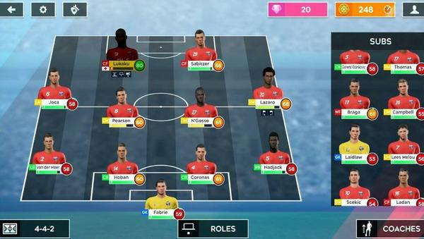 Dream League Soccer Screen 2