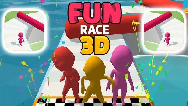 Fun Race 3D Logo