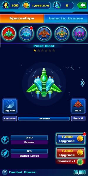 Galaxy Attack Ships