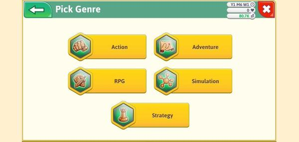 Game Dev Tycoon Screen 3