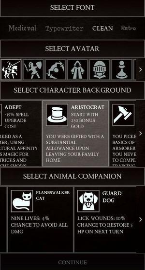 Grim Quest Screen 2