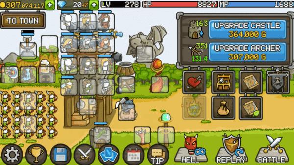 Grow Castle Gameplay
