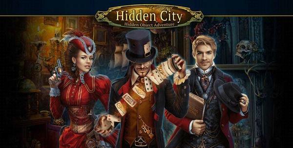 Hidden City Logo
