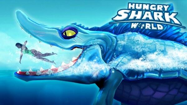 Hungry Shark World Logo