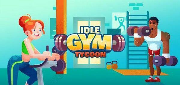 Idle Fitness Gym Logo