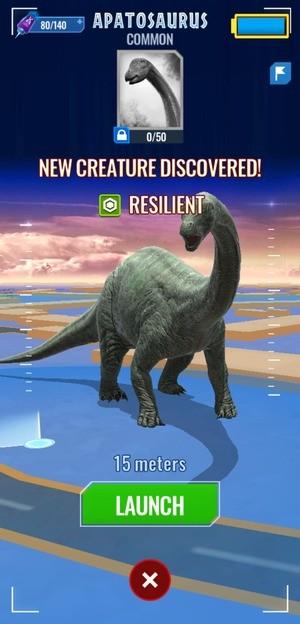 Jurassic World Alive Screen 2