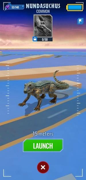 Jurassic World Alive Screen 3