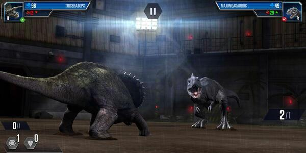 Jurassic World The Game Arena