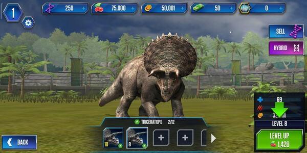 Jurassic World The Game Dino